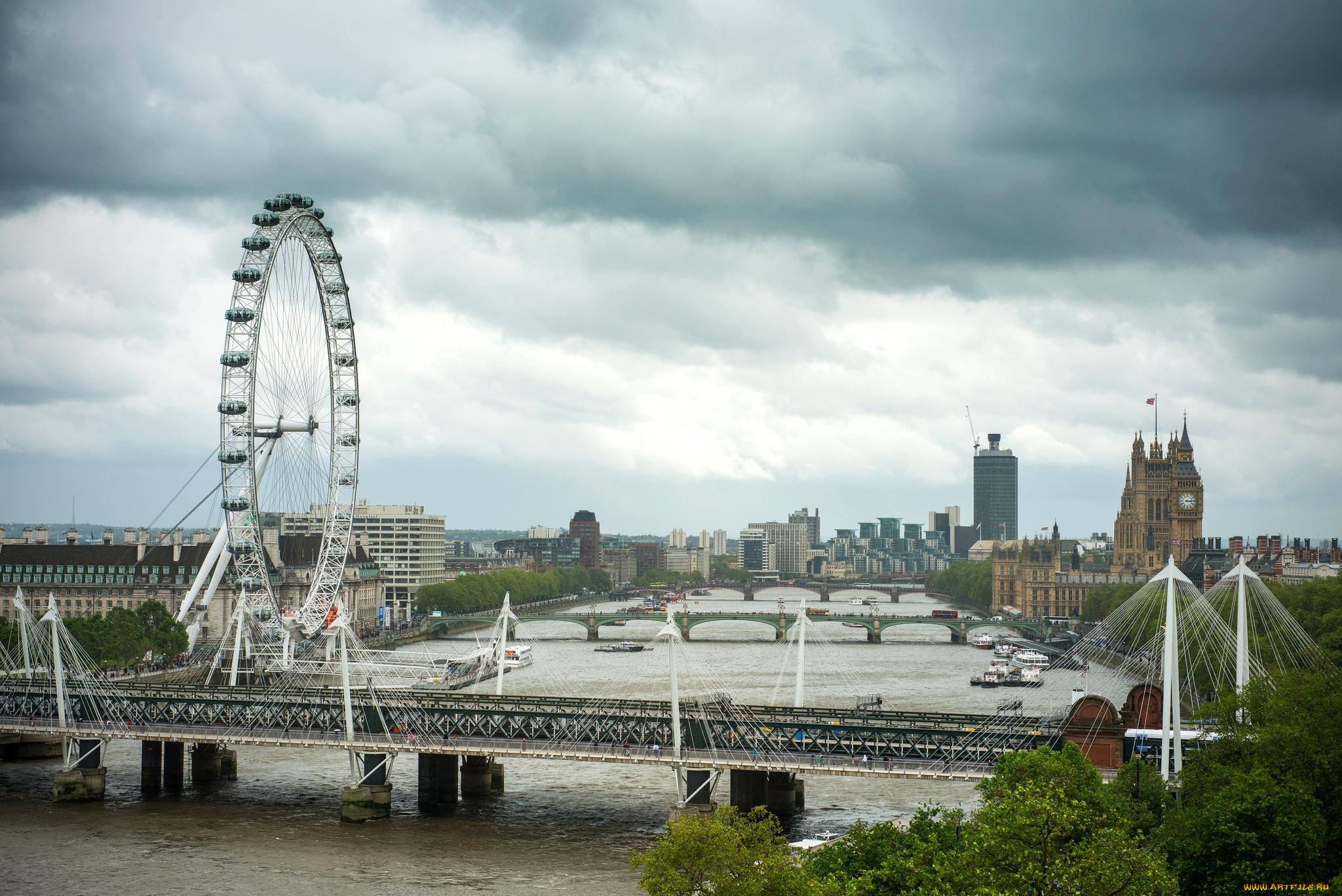Города лондон великобритания обои